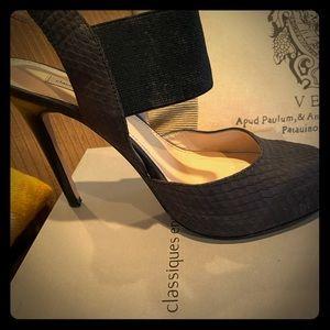 Black Classiques Entier elastic heels